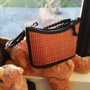 Baskets of Cambodia basket weaved basket purse